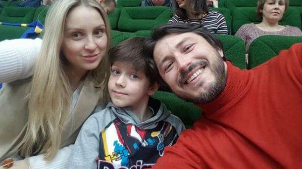 Сергій Притула з сім'єю