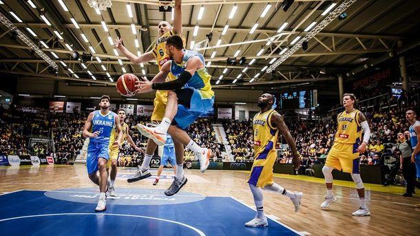 Украина – Швеция: анонс матча отбора на Кубок мира-2019 по баскетболу