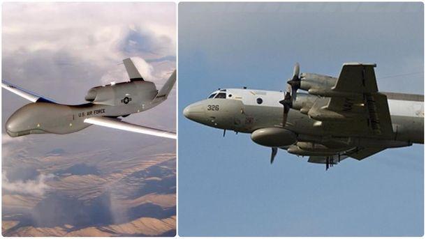 Американский беспилотник совершил разведывательный полет внебе над Крымом