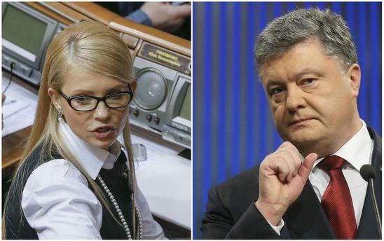 Порошенко шантажує, а в Тимошенко може обвалитися рейтинг