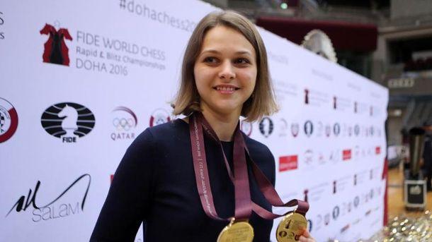 Анна Музичук обмінялася футболками зРоналду