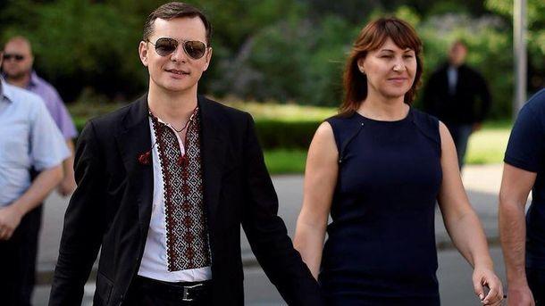 Олег Ляшко з дружиною Росітою