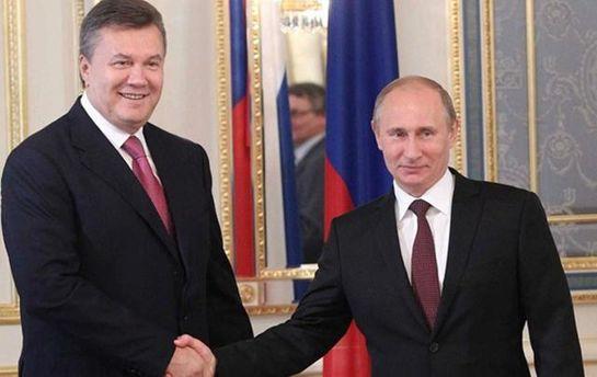 Янукович з Путіним рідко бачаться в Росії