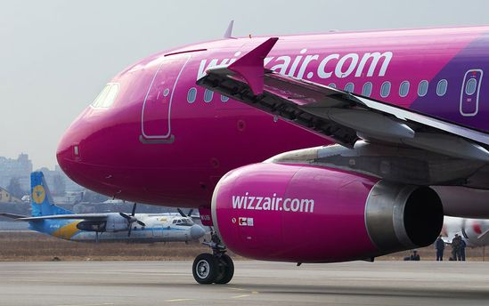 Wizz Air запустит бюджетные рейсы Харьков