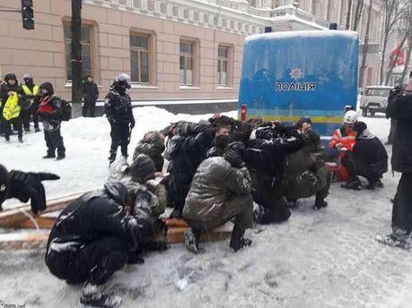 """""""Було місиво, людей заштовхували в автобуси й відвозили"""": жителів Волоколамська, які протестують проти сміттєзвалища, жорстоко розганяє ОМОН - Цензор.НЕТ 8772"""