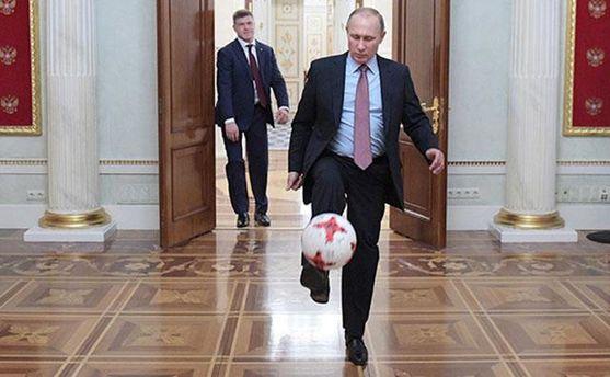 Путин снялся в промо-ролике к Чемпионату мира 2018 года