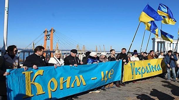 Повернути Крим допоможе імплементація закону про реінтеграцію Донбасу