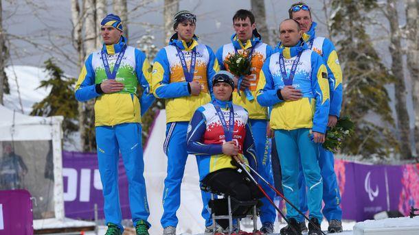 Українська збірна завершила Паралімпіаду-2018 з 22 медалями