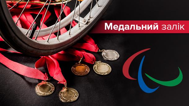 Паралімпіада-2018: медальний залік 17 березня