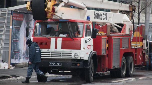 У Києві загорілася одна із квартир у БЦ
