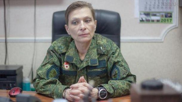 Терористка Ольга Качура з позивним
