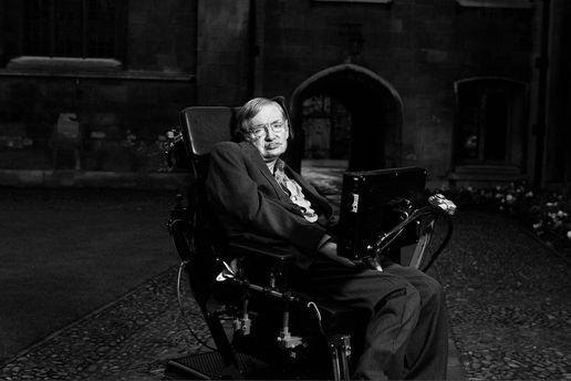 Помер Стівен Хокінг: фото з життя