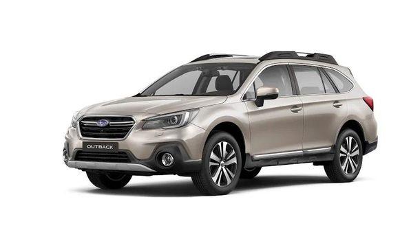 Subaru Outback с новым комплексом систем безопасности представлен в Украине