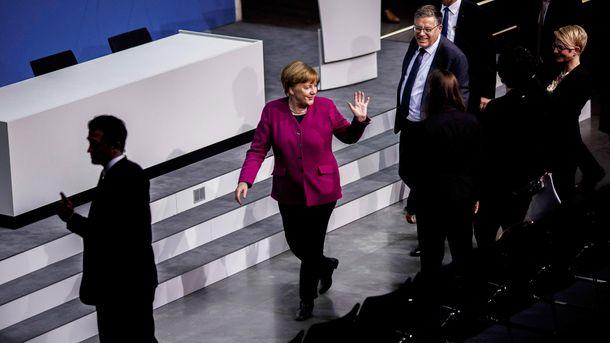 В Германии задержали мужчину, который, вероятно, хотел напасть на Меркель: фото