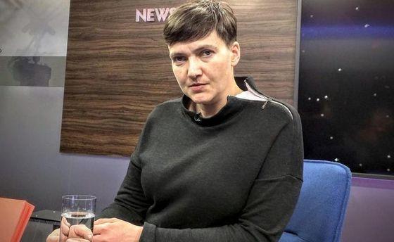 Савченко звернулася з проханням до Путіна