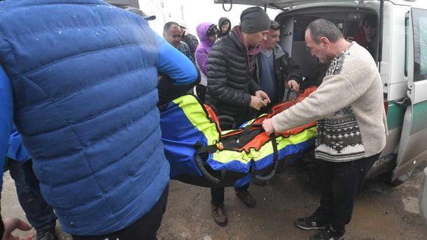 Постраждалий на гірськолижному курорті українець перебуває в реанімації у важкому стані