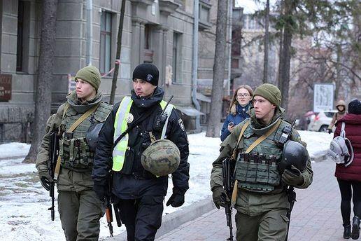 МВС посилило охорону правопорядку вКиєві