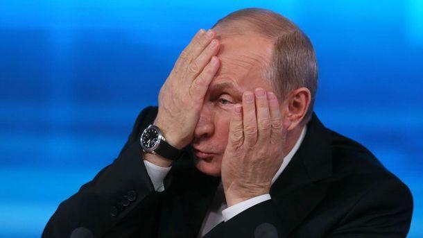 Російський журналіст назвав головну проблему Путіна