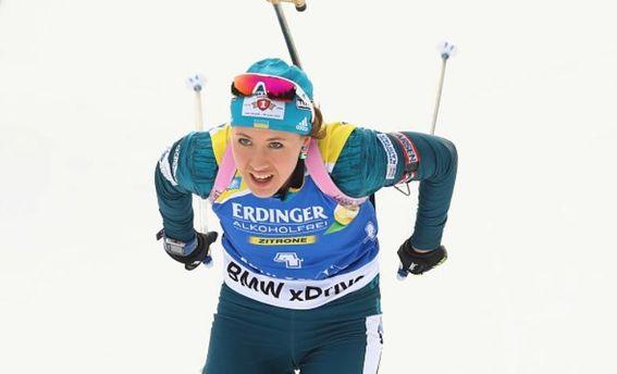 Биатлонистка изМожги Ульяна Кайшева заняла девятое место вэстафетной гонке