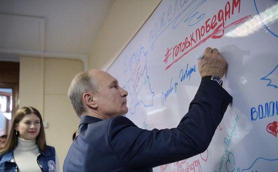 Выборы в России: очень легко провести аналогии между Путиным и Гитлером