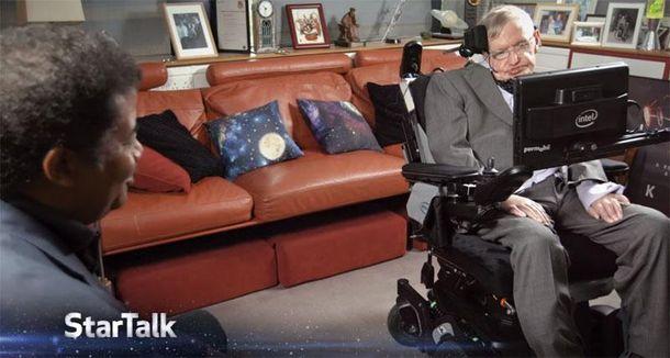 Последнее интервью с Хокингом: