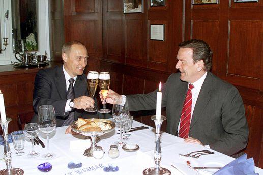 Клімкін вимагає від ЄС санкцій для путінолюба Шредера