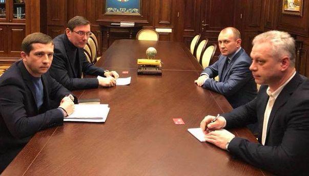 УГПУ кажуть, щоЛуценко порозумівся з«Новою поштою»