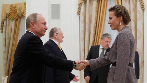 Путин встретился с соперниками: Собчак россияне не услышали, Явлинский говорил об Украине