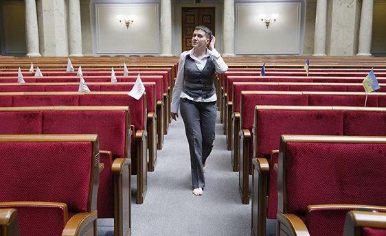 Савченко назвала всего одно условие, при котором бы не подорвала Верховную Раду