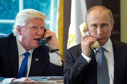 Путін порозмовляв із Трампом про Україну
