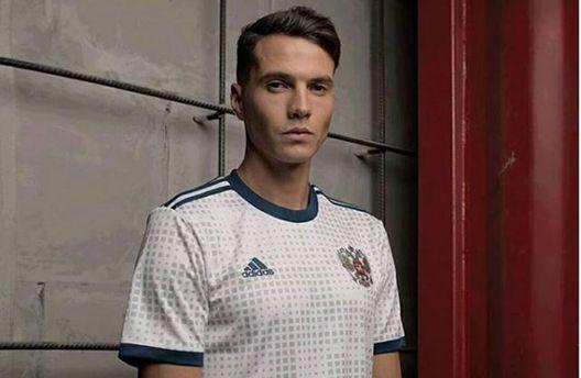 Сборная России по футболу представила свою новую форму: в сети смеются