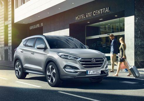 Ціни на популярні комплектації Hyundai Tucson стають вигідніше