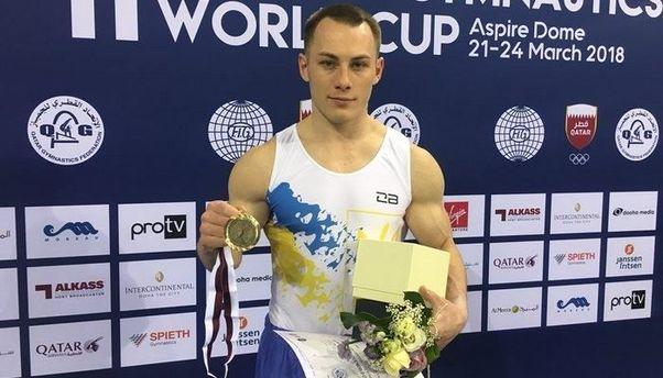 Український гімнаст завоював два «золота» наКубку світу