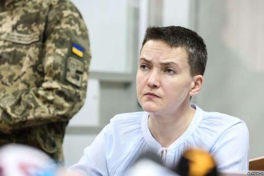 Арештована Савченко утримується в СІЗО з відеонаглядом