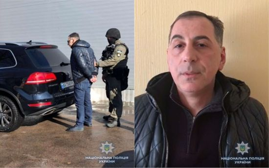 Под Киевом словили «вора взаконе» изГрузии