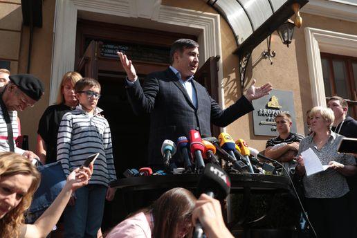 Саакашвили заявляет, что при обыске ГПУ иСБУ его ограбили