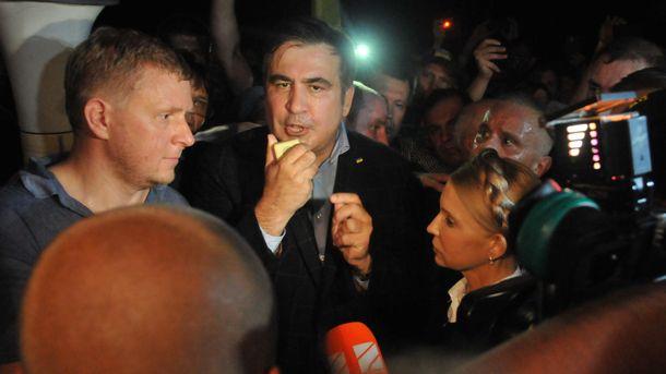 Негорными тропами. Саакашвили поведал овозвращении на Украинское государство