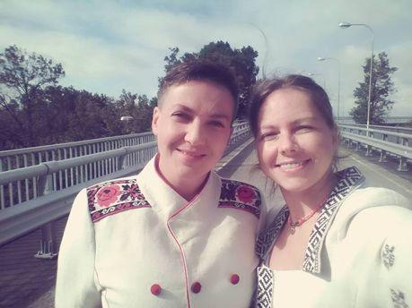 «Вмоём автомобиле отыскали взрывное устройство»— Сестра Савченко