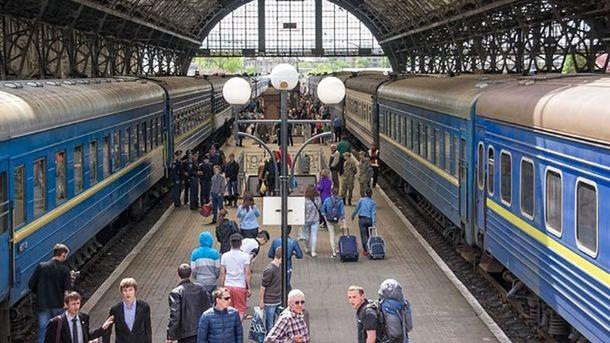Уквітні вартість квитків напасажирські поїзди може вирости на12%