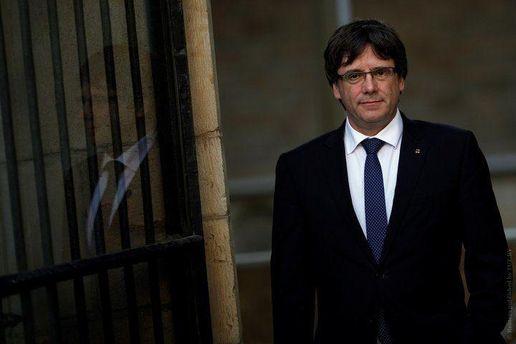 За лідера каталонців внесли заставу, він вийшов з німецької в'язниці
