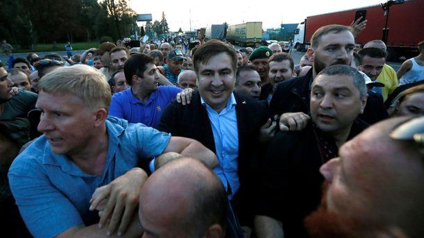 Аваков предостерёг Саакашвили отнового прорыва вУкраинское государство — Будут трупы