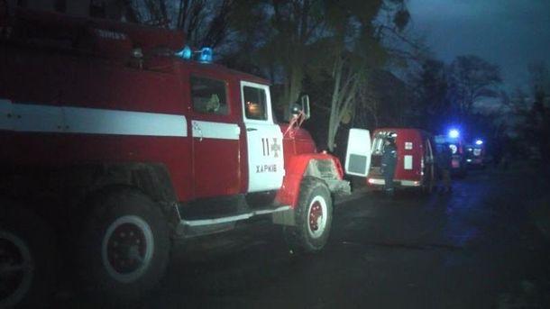 Пожар вХарькове: погибла женщина