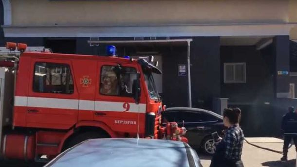 Задымление вТРЦ Житомирской области: эвакуированы люди