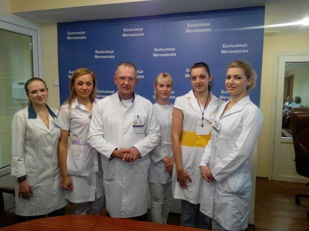 Медперсонал Дніпропетровської обласної лікарні