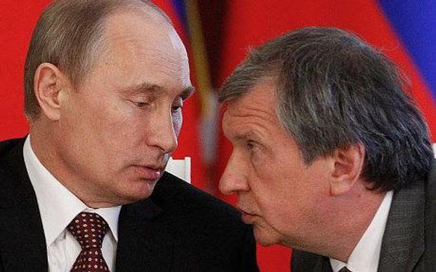 Ігор Сечін і Путін