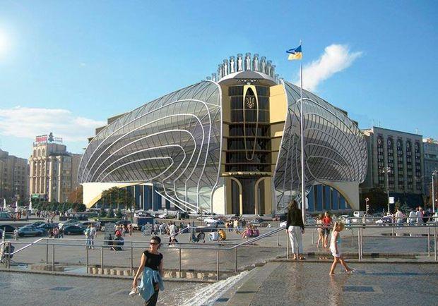 Проект реконструкції Будинку Профспілок