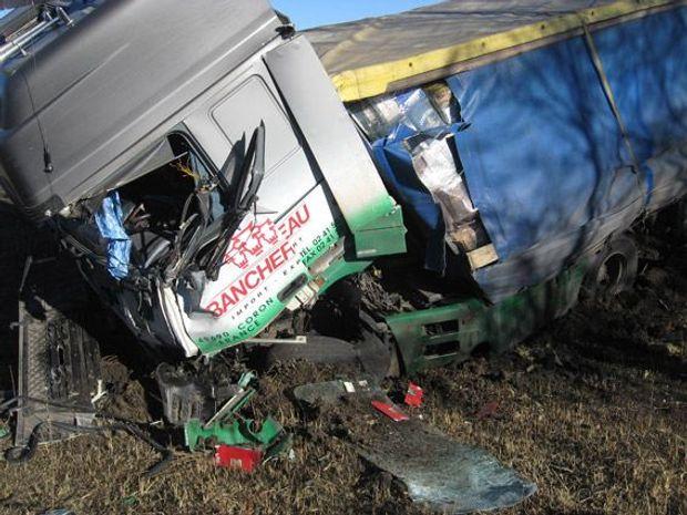 Аварія у Полтавській області