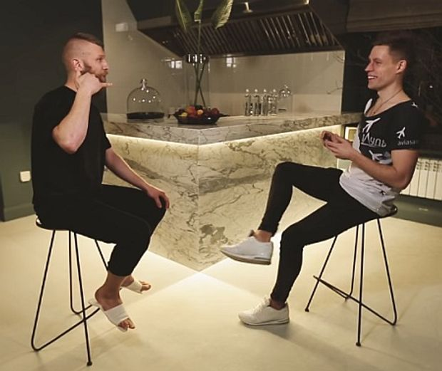 Іван Дорн у скандальному інтерв'ю з Юрієм Дудою