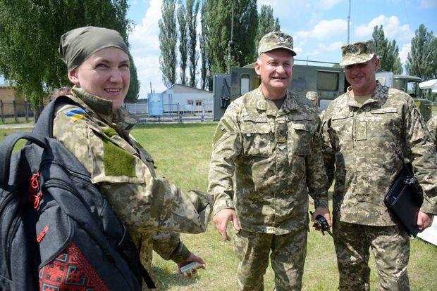 Савченко відвідала виïзне засiдання комiтету з Національноï безпеки й оборони