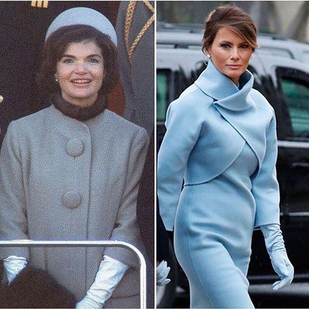 Образ Меланії Трамп нагадує образ Джекі Кеннеді